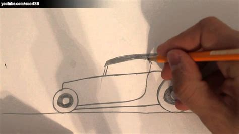 how to draw a rod step by step cars draw cars how to draw a rod car