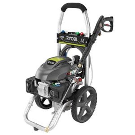 ryobi 2700 psi 2 3 gpm gas pressure washer ry802700 the