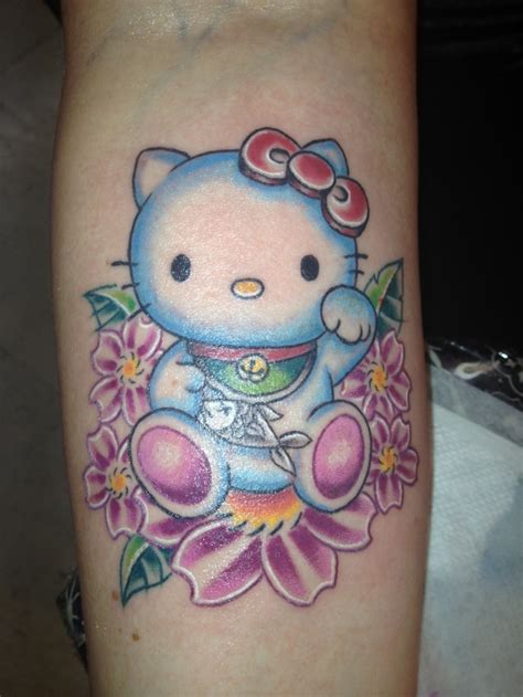 hello kitty tattoos gallery 164 best hello tattoos images on