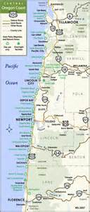 map of hwy 101 oregon road map of oregon coast
