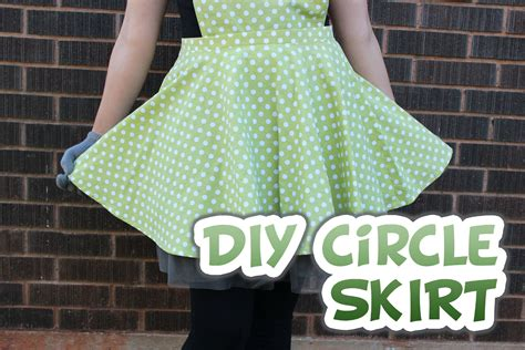 diy swing skirt circle skirt with zipper how to whitney sews youtube