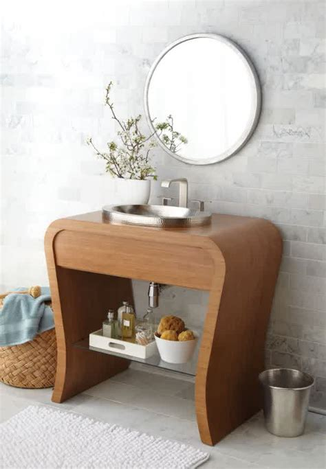 Small Bathroom Vanity With Vessel Sink Small Bathroom Vanities With Vessel Sinks To Create Cool And Stylish Vibes For Your Tiny Bath