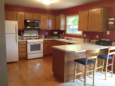best kitchen paint colors with oak cabinets my kitchen