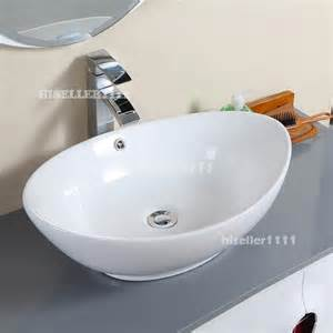bowl bathroom sink new ceramic bathroom sink porcelain vessel bowl with popup