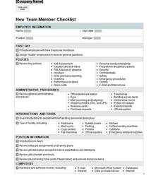New Business Checklist Template by Employee List Template Helloalive