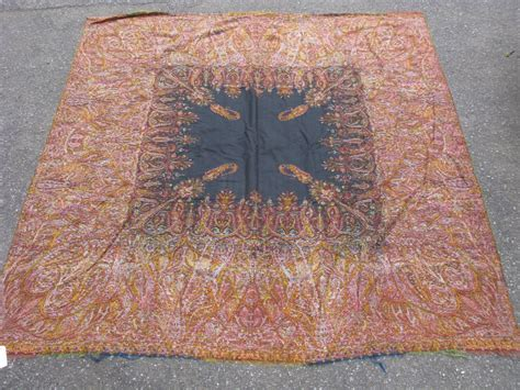 Allan Rug by Antique Paisley Shawl Jacquard Loomed Wool