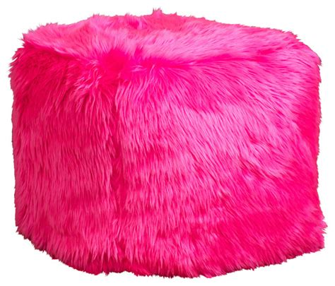 pink fluffy chair bean bags for