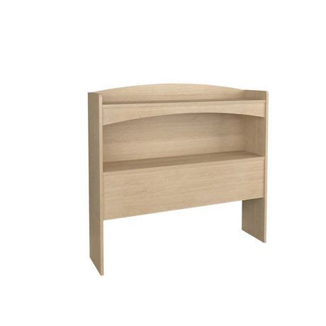 twin size headboards walmart nexera alegria collection twin size maple bookcase