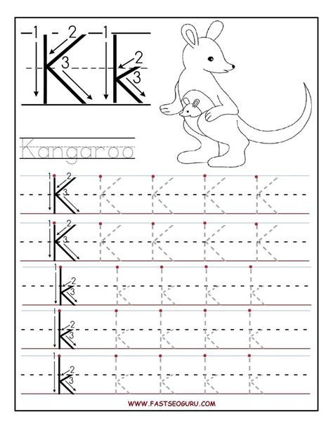 toddler printable tracing worksheets printable letter k tracing worksheets for preschool