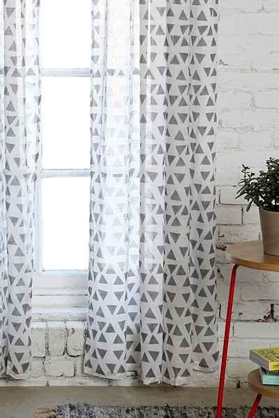 Magical Thinking Curtains Magical Thinking Triangle Curtain Outfitters Triangles And Curtains
