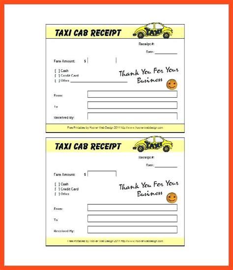 washington dc taxi receipt template taxi receipt blank blank taxi receipt word template