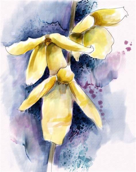 tutorial watercolor coreldraw 28 best painter flowers images on pinterest corel