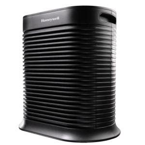 honeywell true hepa 465 sq ft air purifier allergen remover ha300bhd the home depot