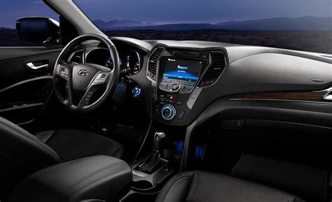Santa Fe Sport Interior car and driver