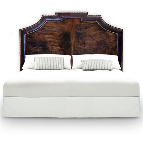 Cowhide Headboards by Rawhide Company Cowhide Rugs In Interior Design And