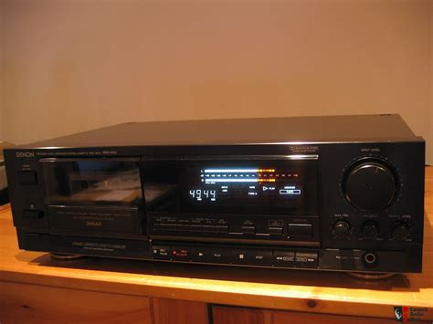 denon cassette deck denon drm 800 cassette deck photo 202425 canuck audio mart