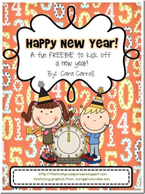 new year literacy activities this freebie includes a few on math