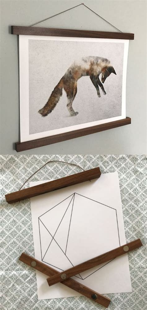 hang posters without damaging them best 25 poster frames ideas on diy poster