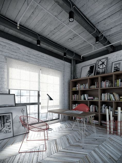 Industrial Style Floor L Industrial Decor Interior Design Ideas
