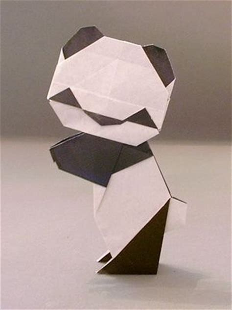 how to make 3d origami panda best 25 panda craft ideas on panda themed