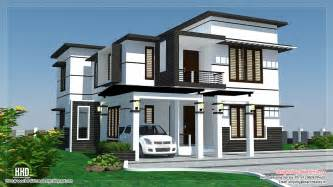 Home Designs 2500 Sq Feet 4 Bedroom Modern Home Design Kerala Home