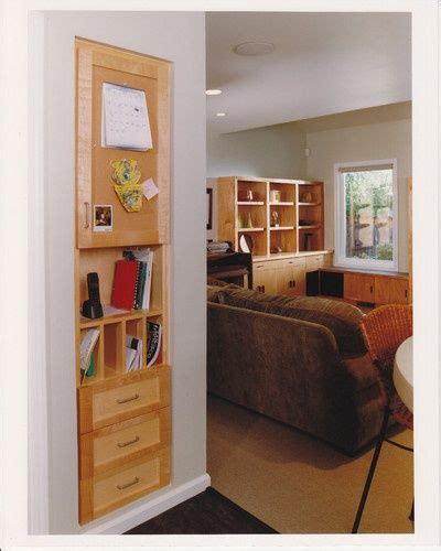 built in drawers between wall studs small space ideas