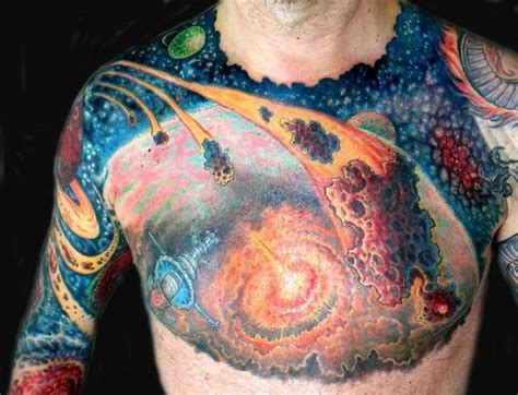 tattoo over nipple 75 space inspired tattoos for people who are fascina