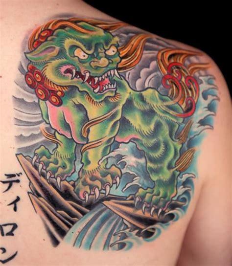 traditional foo dog tattoo designs 25 breathtaking foo tattoos