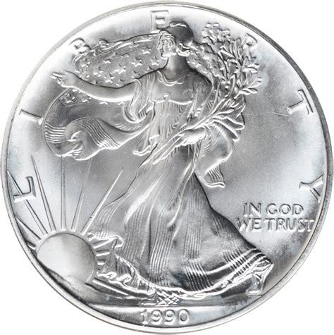 1 silver coin price value of 1990 1 silver coin american silver eagle coin