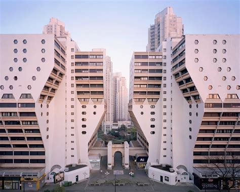 post modern utopia  paris suburb  photographed