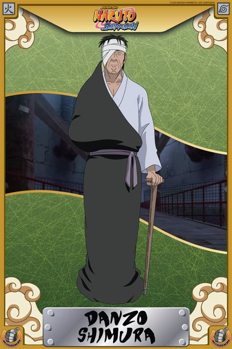 Foundation Shimura Danzo Shimura By Meshugene89 On Deviantart