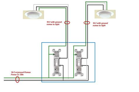 dual light switch wiring switch light wiring diagram 34 wiring diagram