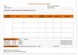 integrated care plan template kate pascale associates goal directed care planning