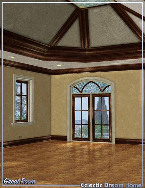 dream home decor dream home great room decor eclectic 3d models and