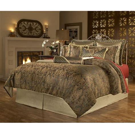 vintage paisley gold  black  piece comforter set aarons bedding furniture pinterest