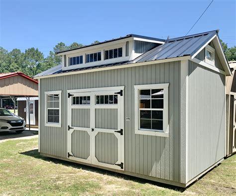 garage door sheds  sale   portable buildings