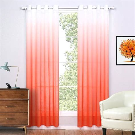 Orange sheer curtains uk sheer orange curtains orange sheer curtains target diamond sheer voile
