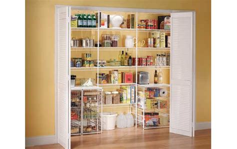 Wire Pantry Shelving Systems by Ventilated Wire Shelving Custom Closets Organized Living