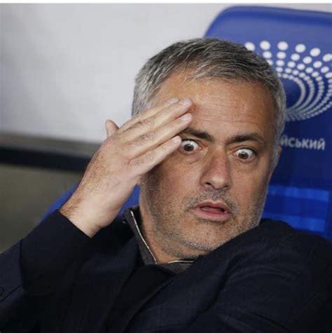 Mourinho Meme - shocked mourinho blank template imgflip