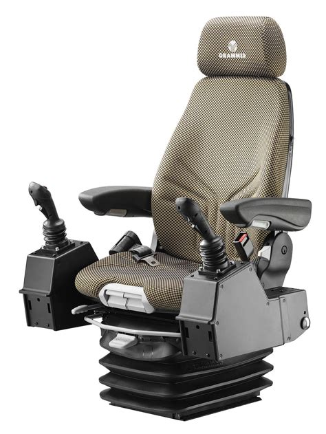 bolstered grammer suspension seat w isolator capital seating and vision gt seating vision and