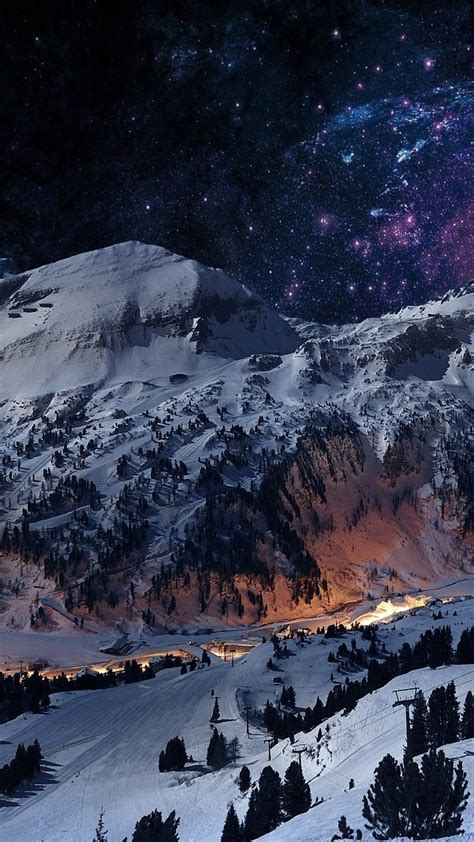 winter night sky wallpaper  images