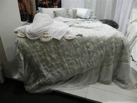 organza rubiah linen zaffiro linen organza bedspread duvet arte pura italian