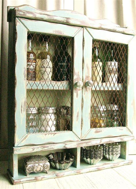 Chicken Wire Kitchen Cabinets Cabinet With Chicken Wire Doors Crafty Chicken Wire Doors And Shabby