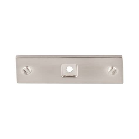 Sale Softban Bsn 3inch top knobs barrington 3 inch length brushed satin nickel back plate tk741bsn cabinetparts