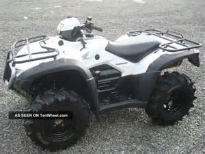 2002 honda rubicon500 4x4 submited images