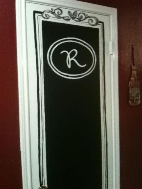 Chalkboard Pantry Doors by Chalkboard Pantry Door