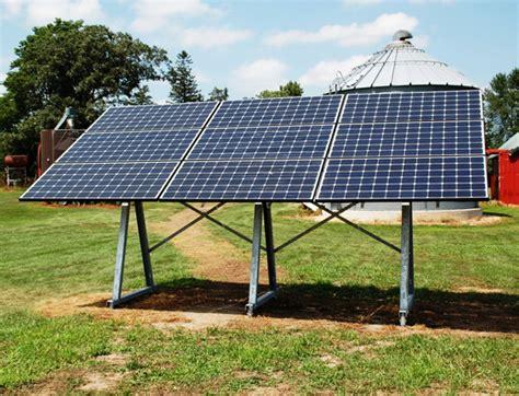 Solar Rack by 2 7kw Farm Installation Sunracksolar