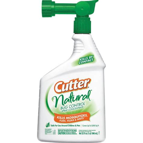 cutter backyard bug control spray concentrate cutter natural 32 fl oz ready to spray concentrate bug