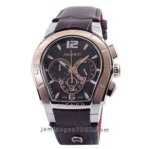 Aigner A2016 Rosegold harga sarap jam tangan aigner palermo coklat gold kw