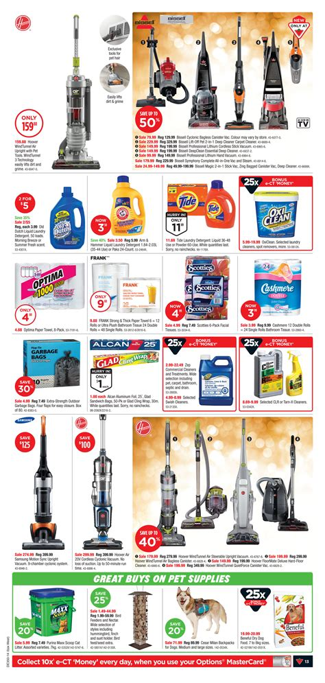 Original Vacuum Cleaner Lakoni Vortex 35p Vortex 35 P canadian tire weekly flyer weekly flyer dec 4 11 redflagdeals